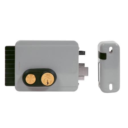 """Электромеханические замки """"BLOCK-OUT"""" с кнопкой подходят для входных дверей и калиток, предназначенных для установки как внутри помещений, так и на улице."""
