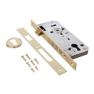 Закрыть Kale Kilit 152/3MR Корпус врезного цилиндрового замка для деревянных дверей. 3 цилиндрических ригеля. Межосевое расстояние: 85 мм. Бэксет: 45 мм.