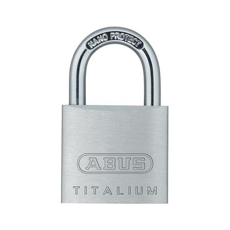 Навесной замок из сплава Titalium ABUS 727TI/30
