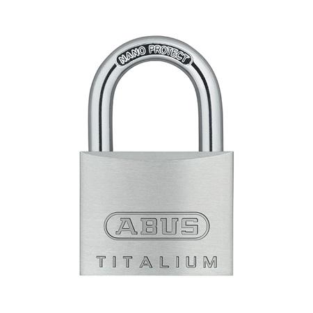 Навесной замок из сплава Titalium ABUS 727TI/40