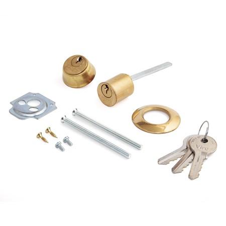 Комплект цилиндровых механизмов внешний/внутренний, фикс./нефикс. для электромеханических замков 3 кл.