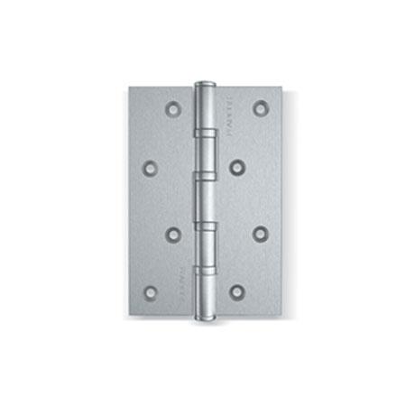 Универсальные петли для деревянных дверей. Материал: нержавеющая сталь. Толщина карты 2.5 мм. 4 подшипника. Упаковка: блистер.