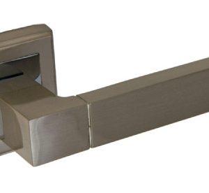 Ручка фалевая алюминиевые на квадратной накладке Palidore A-202