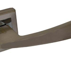 Ручка фалевая алюминиевые на квадратной накладке Palidore A-207